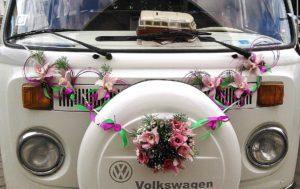 Kāzu auto dekori